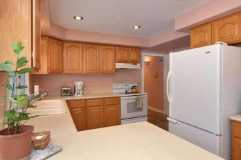 Our Old Pink Kitchen (Click here to see how it looks today)